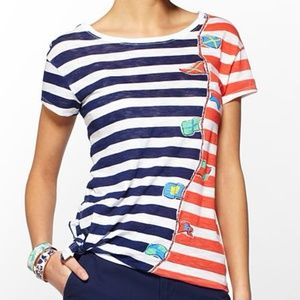 Lilly Pulitzer Glin Top in Raise Your Sails